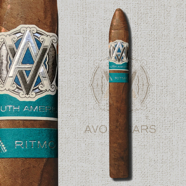 Syncro Ritmo South America Torpedo (7 x 54) Cigar by AVO Cigars