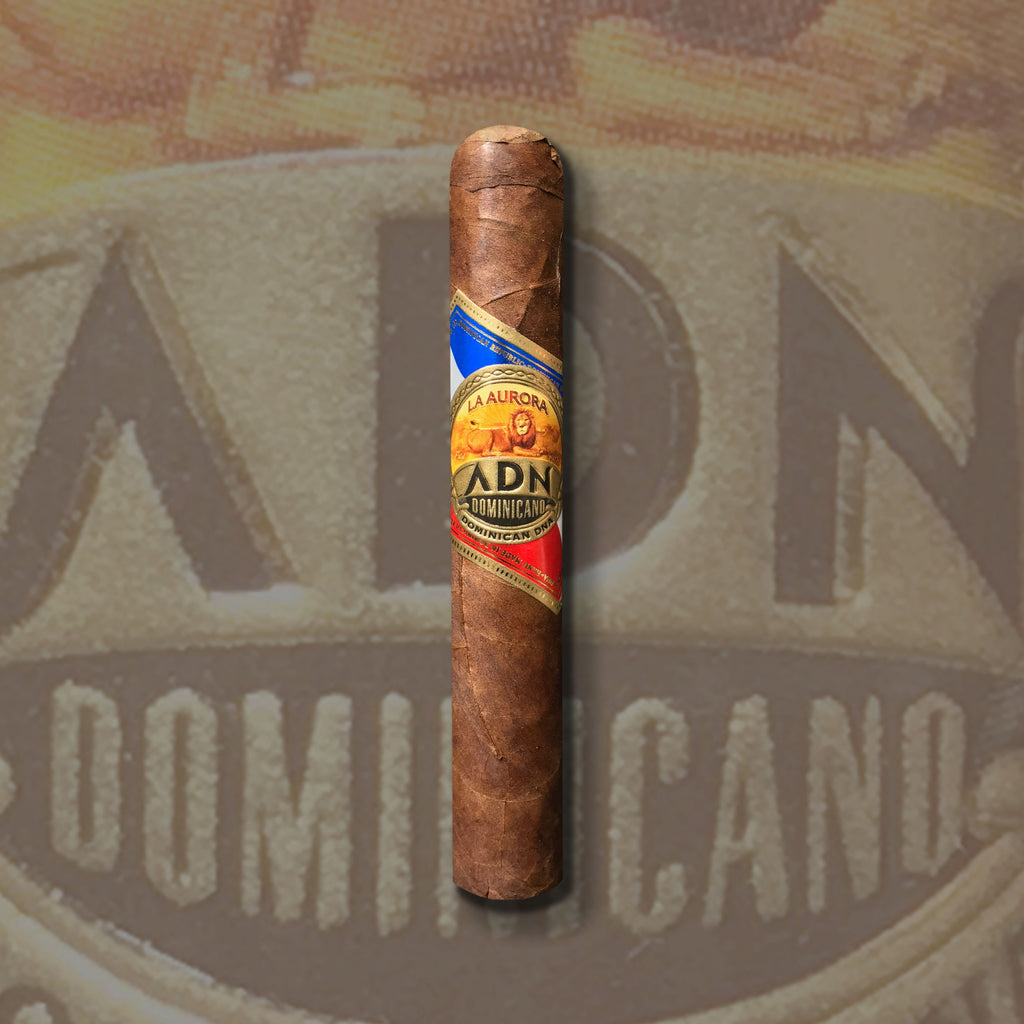 ADN Dominicano Robusto (5 x 50) Cigar by La Aurora (Uses a rare aging technique!)