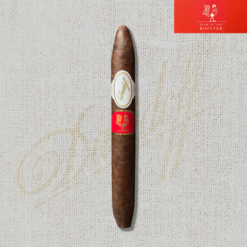 2017 Year of the Rooster Cigar (6.75 x 50 Diadema) by Davidoff (LIMITED EDITION)