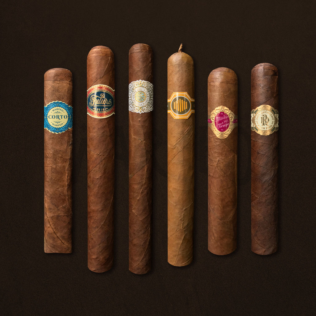 """Discover Warped"" 6 Cigar Collection"
