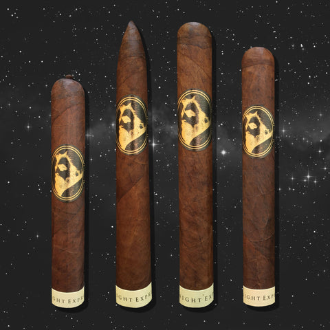 Eastern Standard Midnight Express Sampler (4 Cigars) by Caldwell Cigars