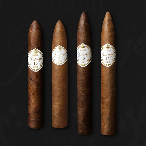 Tatuaje 15th Anniversary 4 Cigar Collection by Tatuaje Cigars (Try every size!)