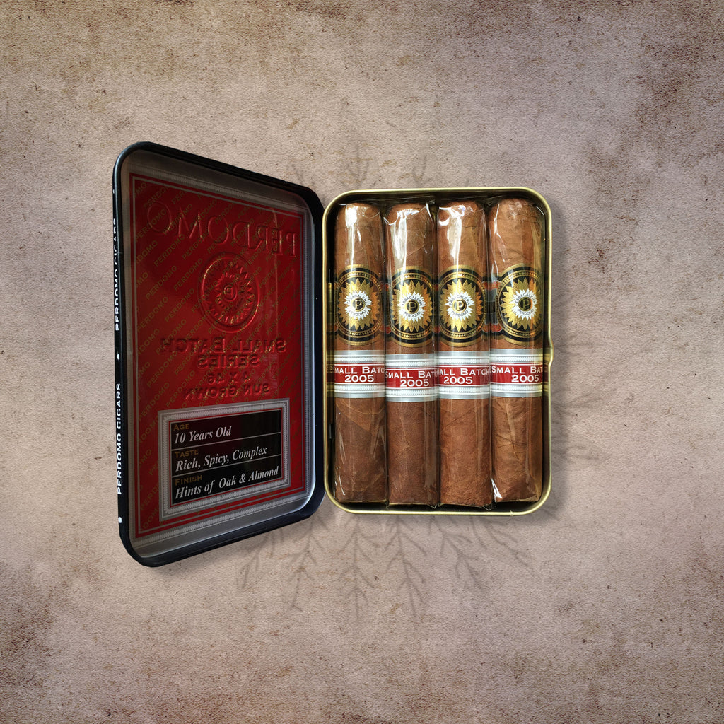 Perdomo Small Batch Sun Grown Cigars Tin (4 Pack) (4 x 46)