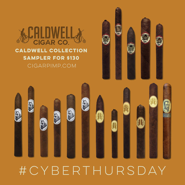 CYBER WEEK The Complete Caldwell Collection Cigar Sampler (Every size, every line).