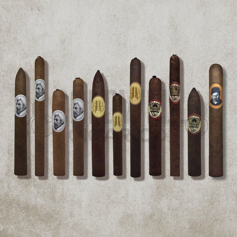Ultimate Caldwell Sampler + Free Blind Man's Bluff Cigar
