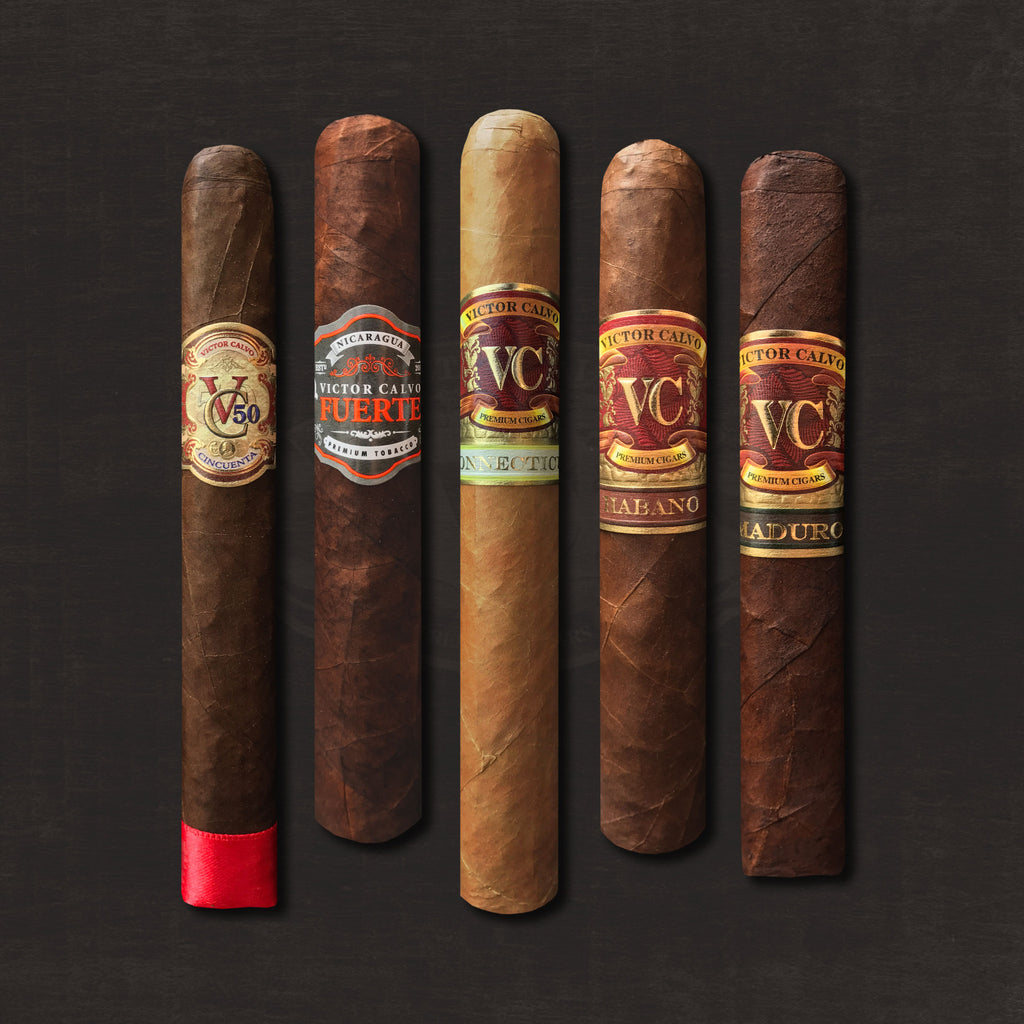 """Discover VC"" Collection (5 Cigars) by Victor Calvo"