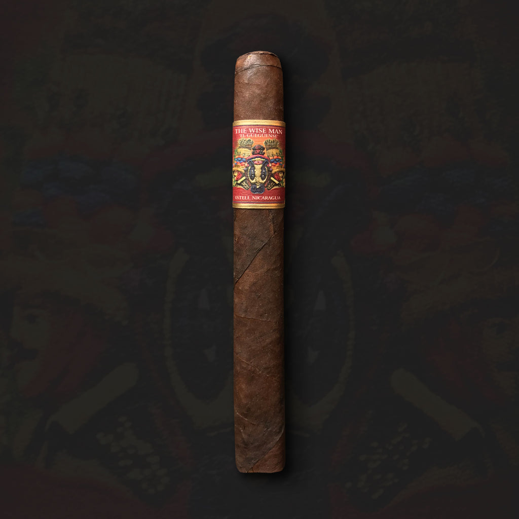 "The Wise Man Maduro ""El Gueguense"" Corona Gorda (5.625 x 46) Cigar by Foundation Cigar Co."