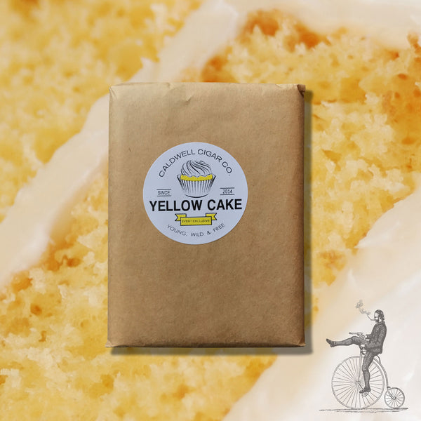 Yellow Cake 5 Cigar Pack (4 x 42) by Caldwell Cigar Co. (Petit Corona)