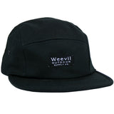 W.O.S.C. 5 Panel Camper Hat // Black