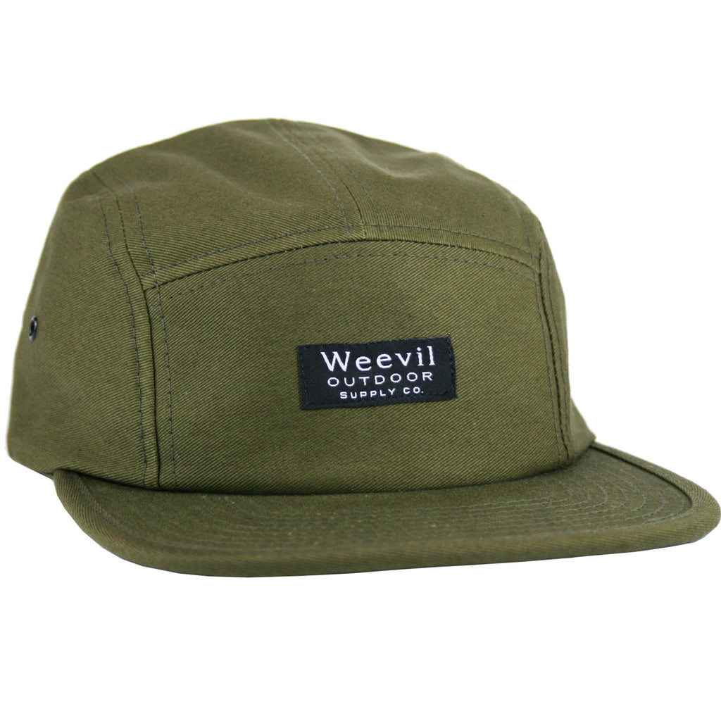 W.O.S.C. 5 Panel Camper Hat // Army Green