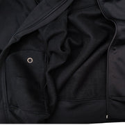 Flight Tech Jacket Hoodie // Black // Removable Hood