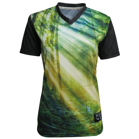 WOMENS JERSEY // FOREST HARMONY // SHORT SLEEVE
