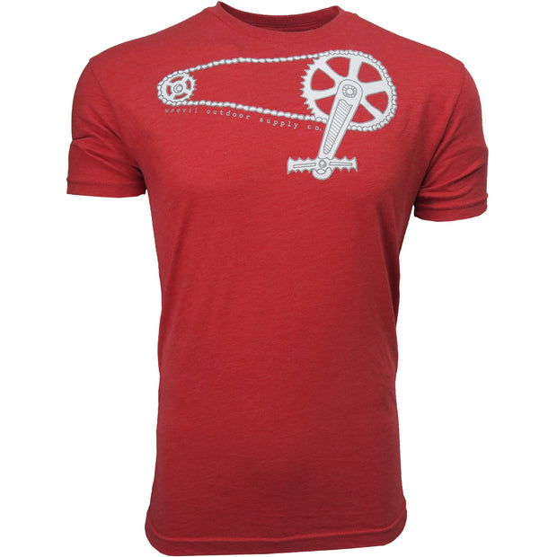 Krank Tee // Vintage Heather Red