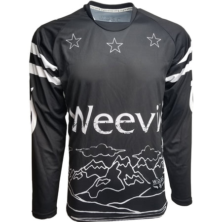 MIDNIGHT MOUNTAINS TEAM JERSEY // LONG SLEEVE