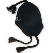 Pallavacini // Winter Beanie // Navy / Brown