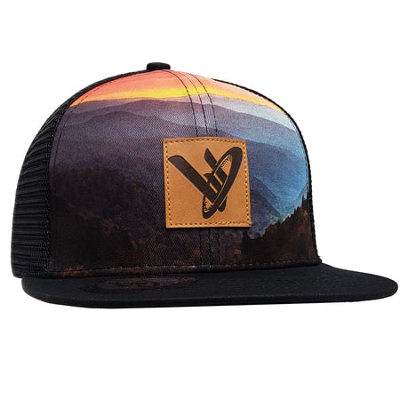 PNF Trucker Hat  // Forest Design // FB