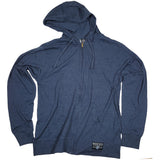 WOSC T Zip Hoodie // Poly/Cotton // Blue