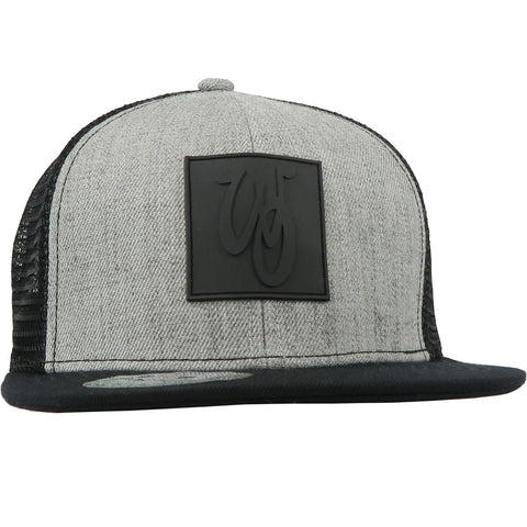 Copy of Monogram Hat // Wool Blend // Heather/Black