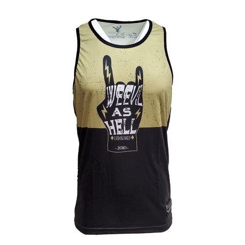 WEEVIL AS HELL TANK TOP // JERSEY