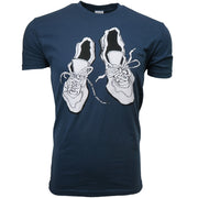 Worn Shoes Tee // Navy