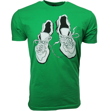 Worn Shoes Tee // Kelly Green