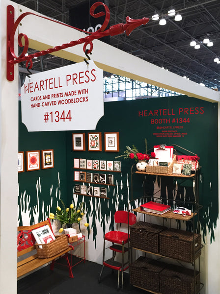 Heartell Press at the 2016 National Stationery Show
