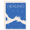 Healing Hands Letterpress Card
