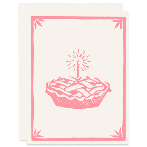 What's Better Than Pie </h6>Letterpress Card