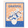 Grateful for Anemonies Letterpress Card