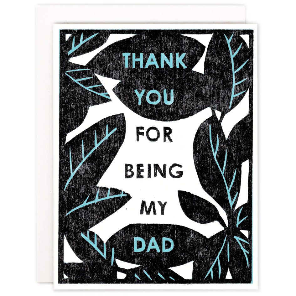 Thank You Dad Folded Card