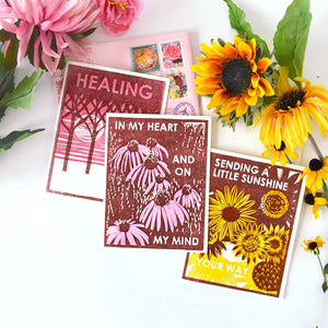 Any 6 Assorted Letterpress Cards