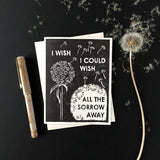 I Wish Letterpress Card