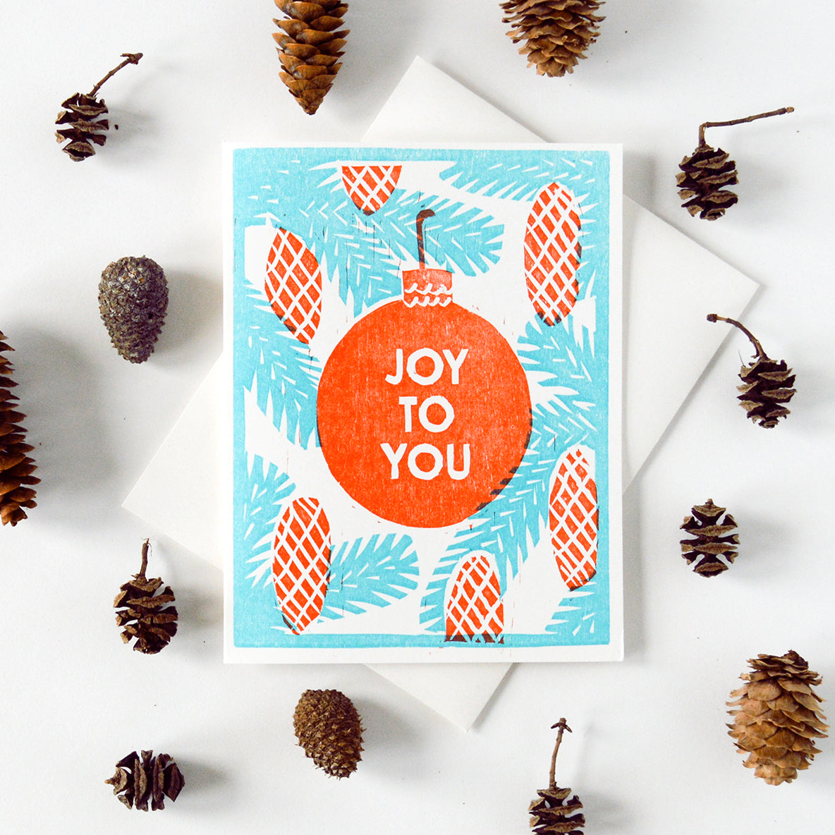 Joy To You Letterpress Card