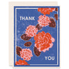 Thank You (Red Peonies) Letterpress Card