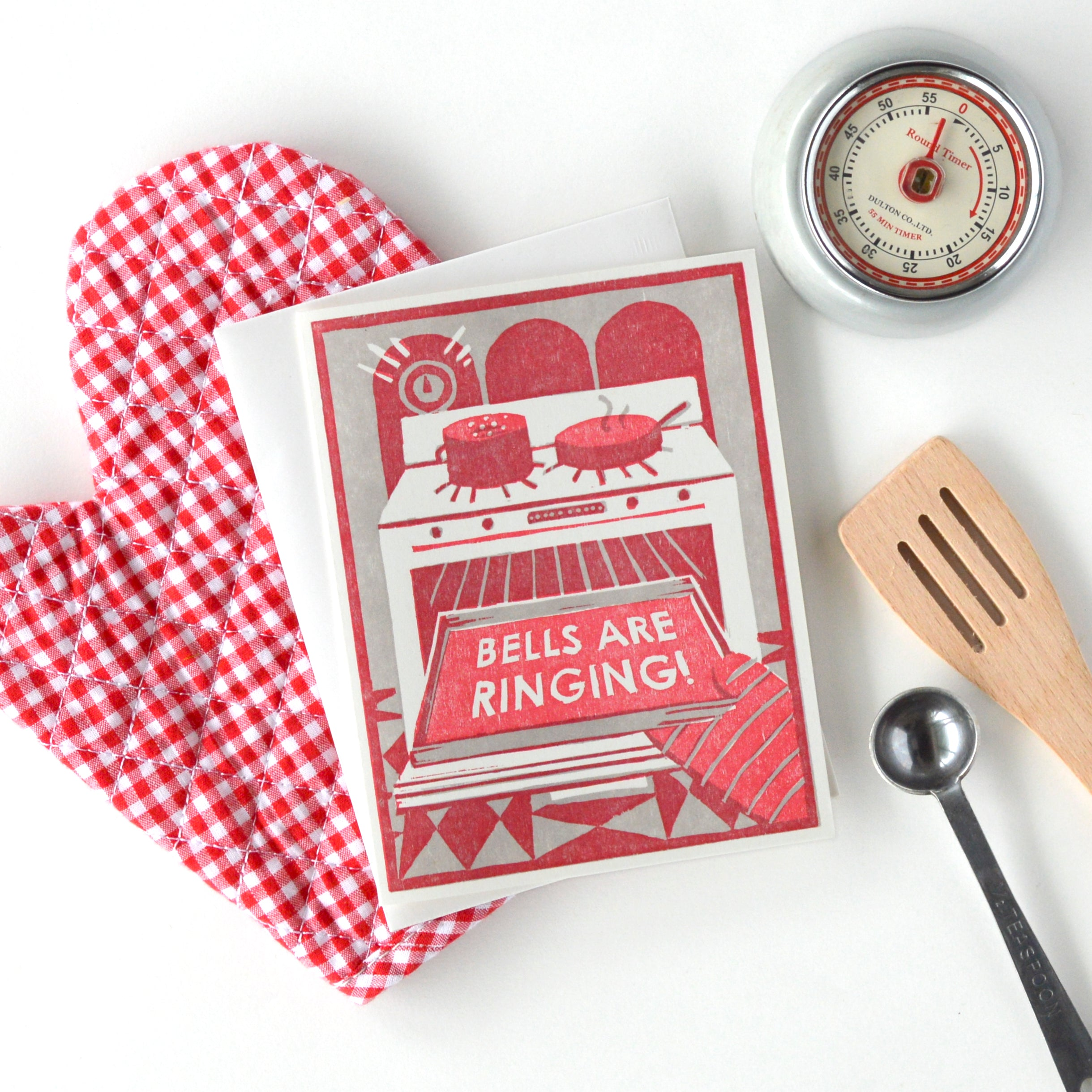 Bells are Ringing Letterpress Card