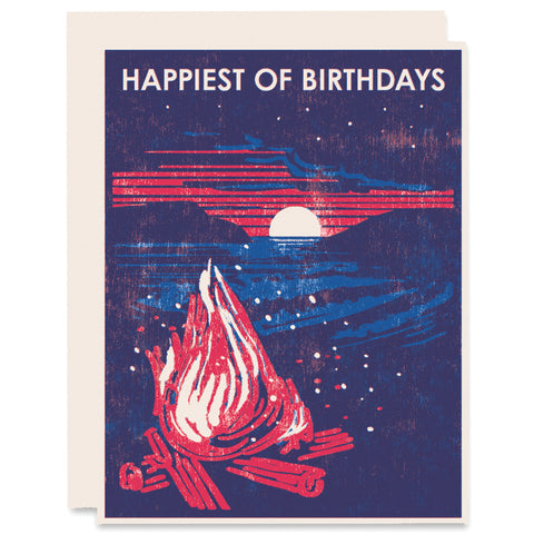 Happiest of Birthdays Letterpress Card