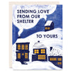 From Our Shelter to Yours Indigo Printed Card
