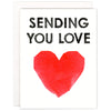 Sending You Love (Heart) Card