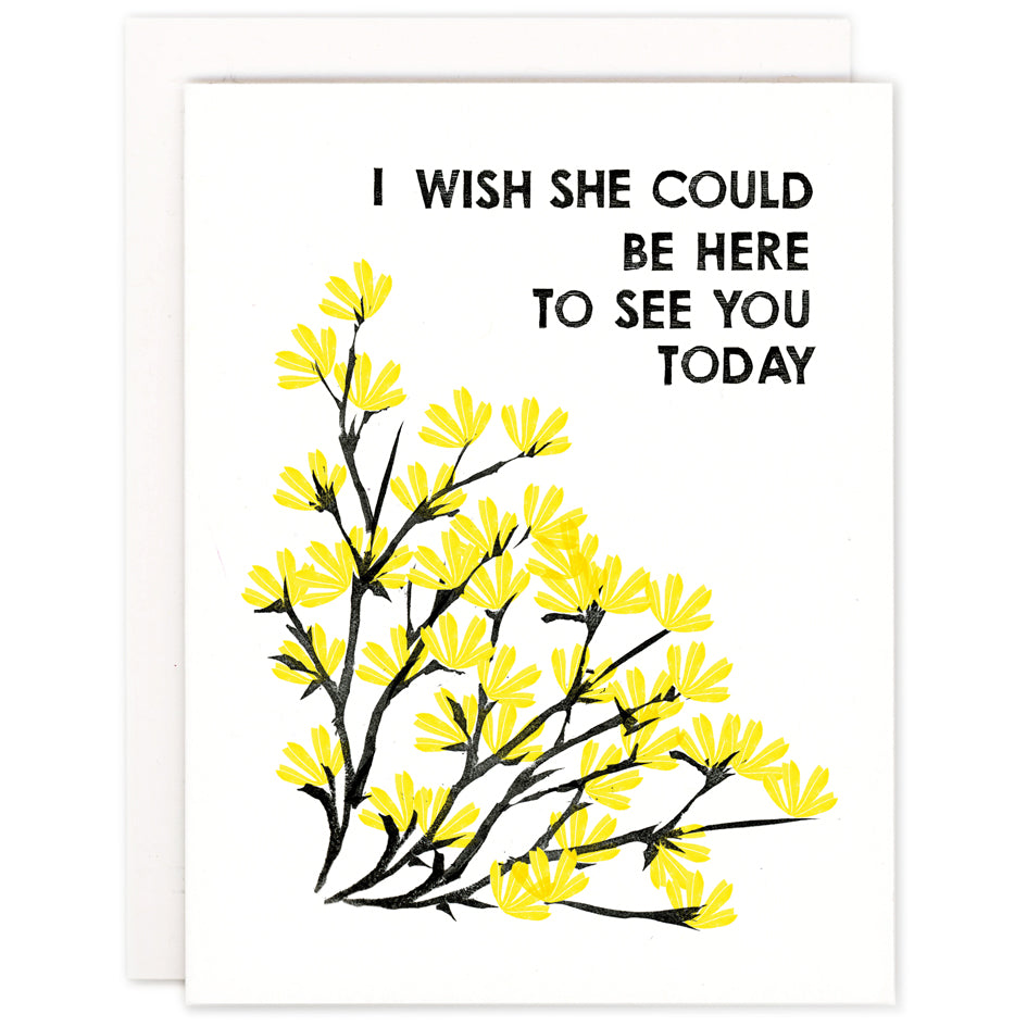 I Wish She Could Be Here Card