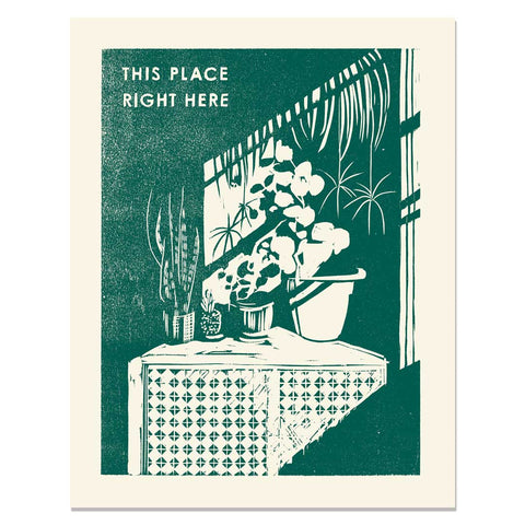 This Place Right Here </h6>Art Print