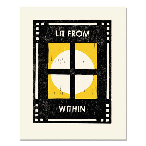 Lit From Within Art Print