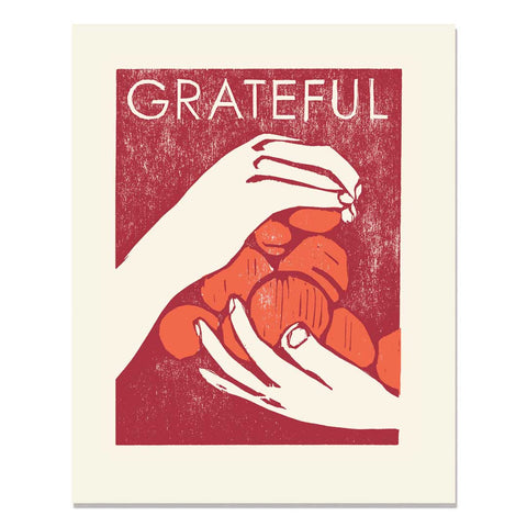 Grateful Hands Art Print
