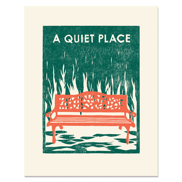 A Quiet Place </h6>Art Print