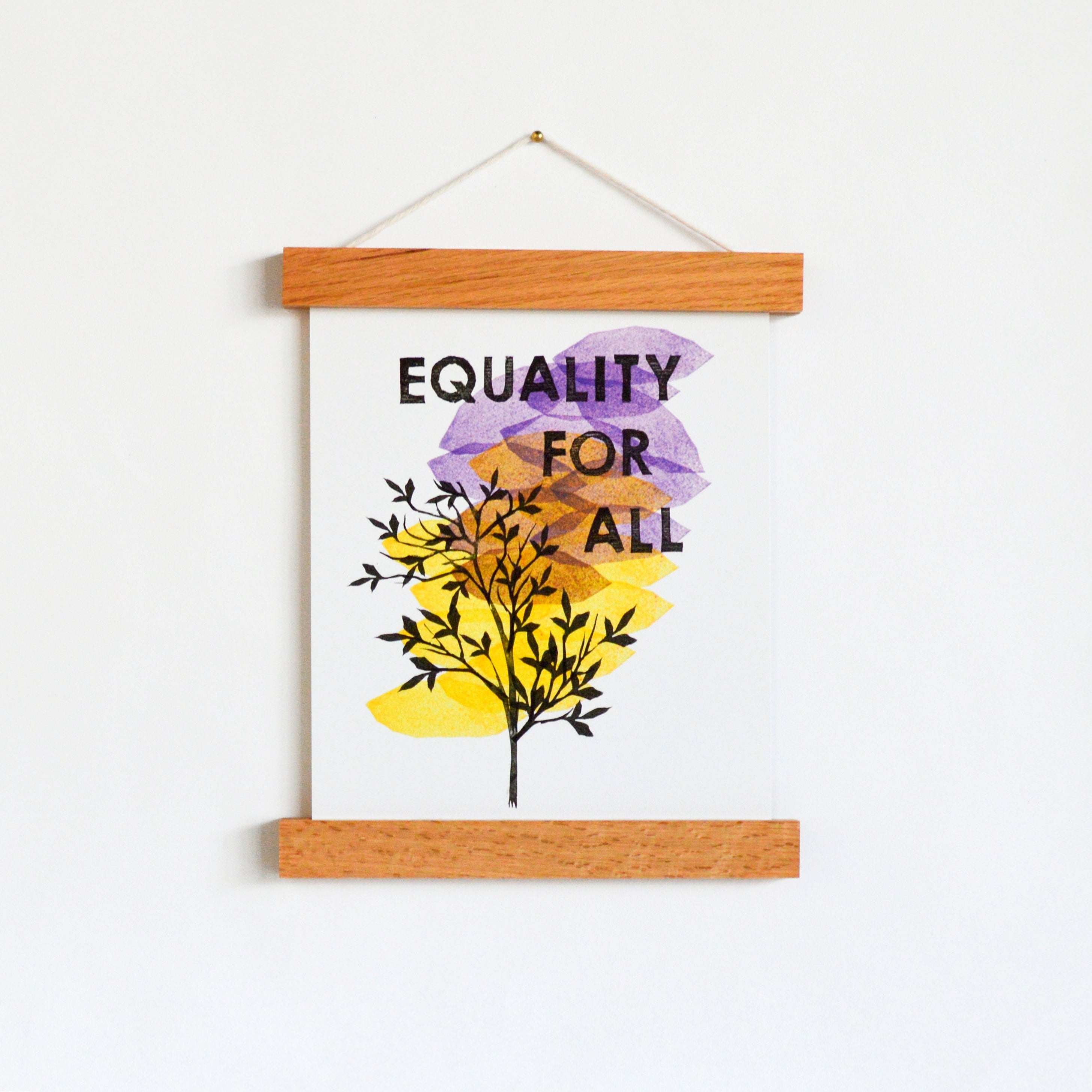 "Equality for All 8 x 10"" Art Print"