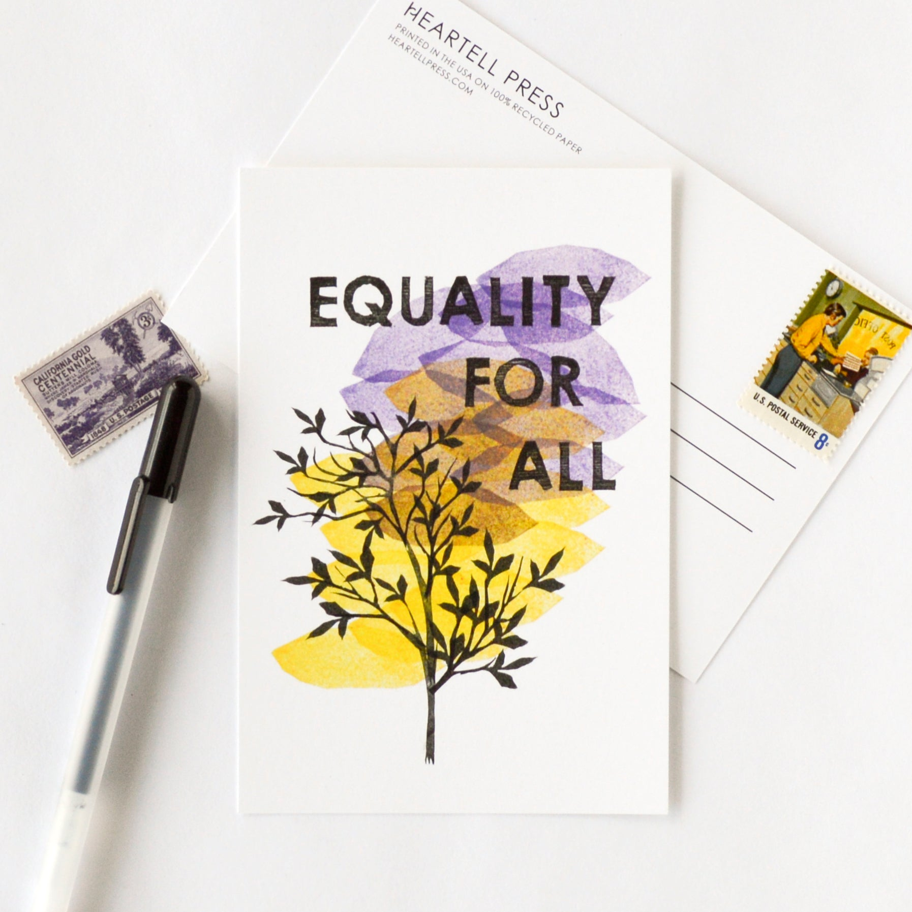 Equality for All Postcard