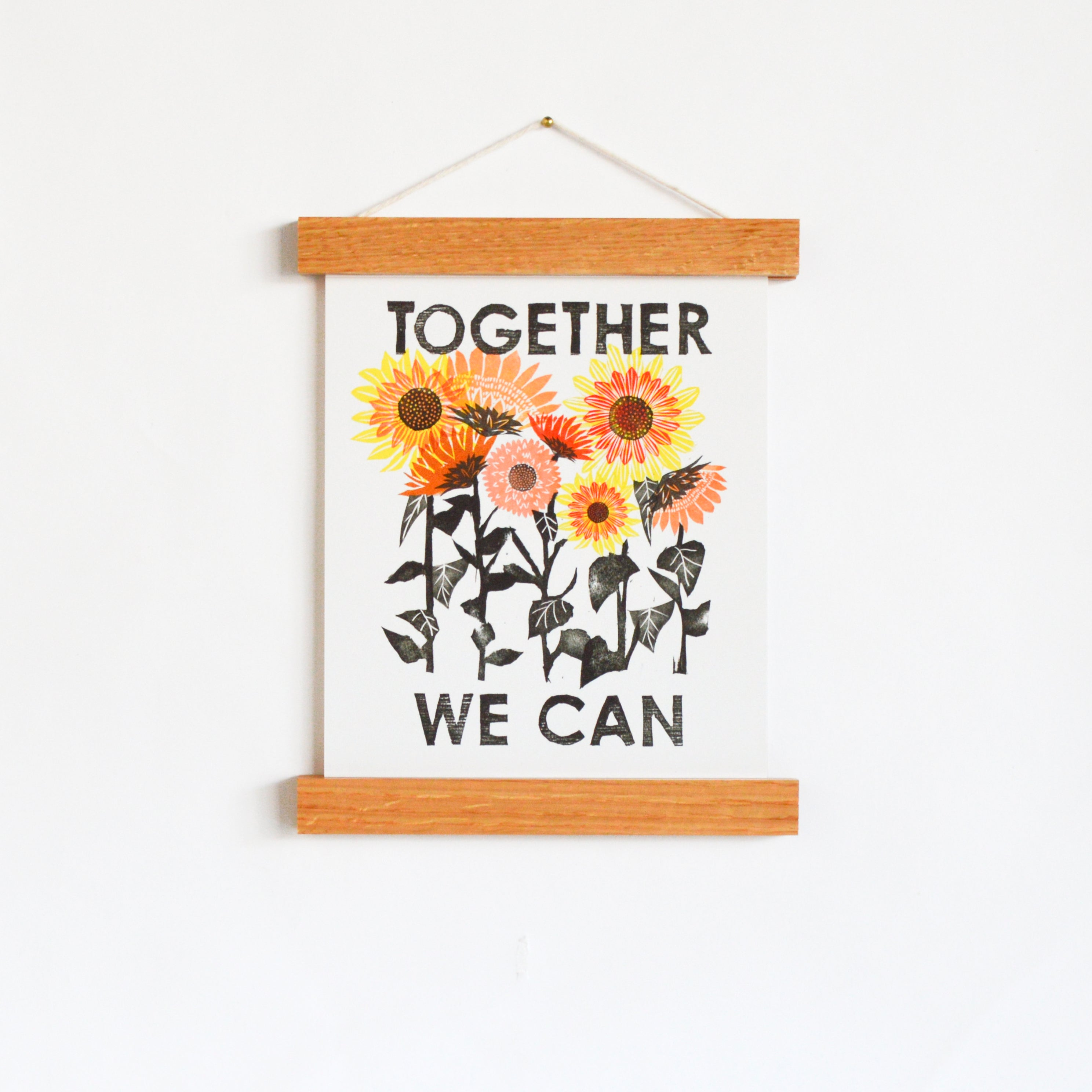 "Together We Can 8 x 10"" Art Print"