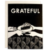 Grateful for Pie Indigo Printed Card
