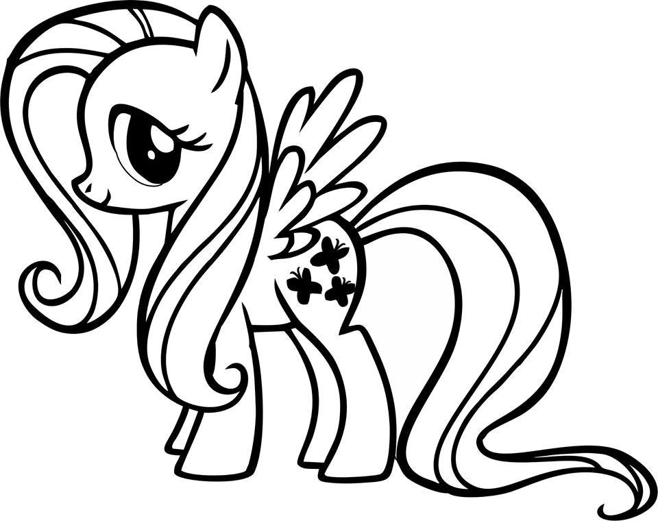 My Little Pony Fluttershy - Die Cut Vinyl Sticker Decal