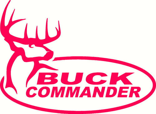 Buck Commander | Die Cut Vinyl Sticker Decal | Sticky Addiction