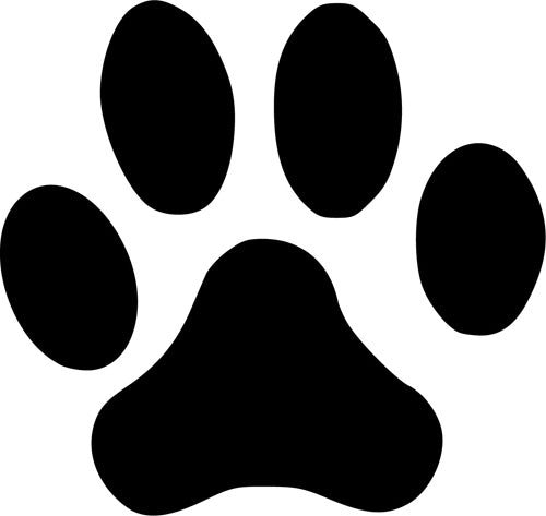 Paw Print | Die Cut Vinyl Sticker Decal | Sticky Addiction